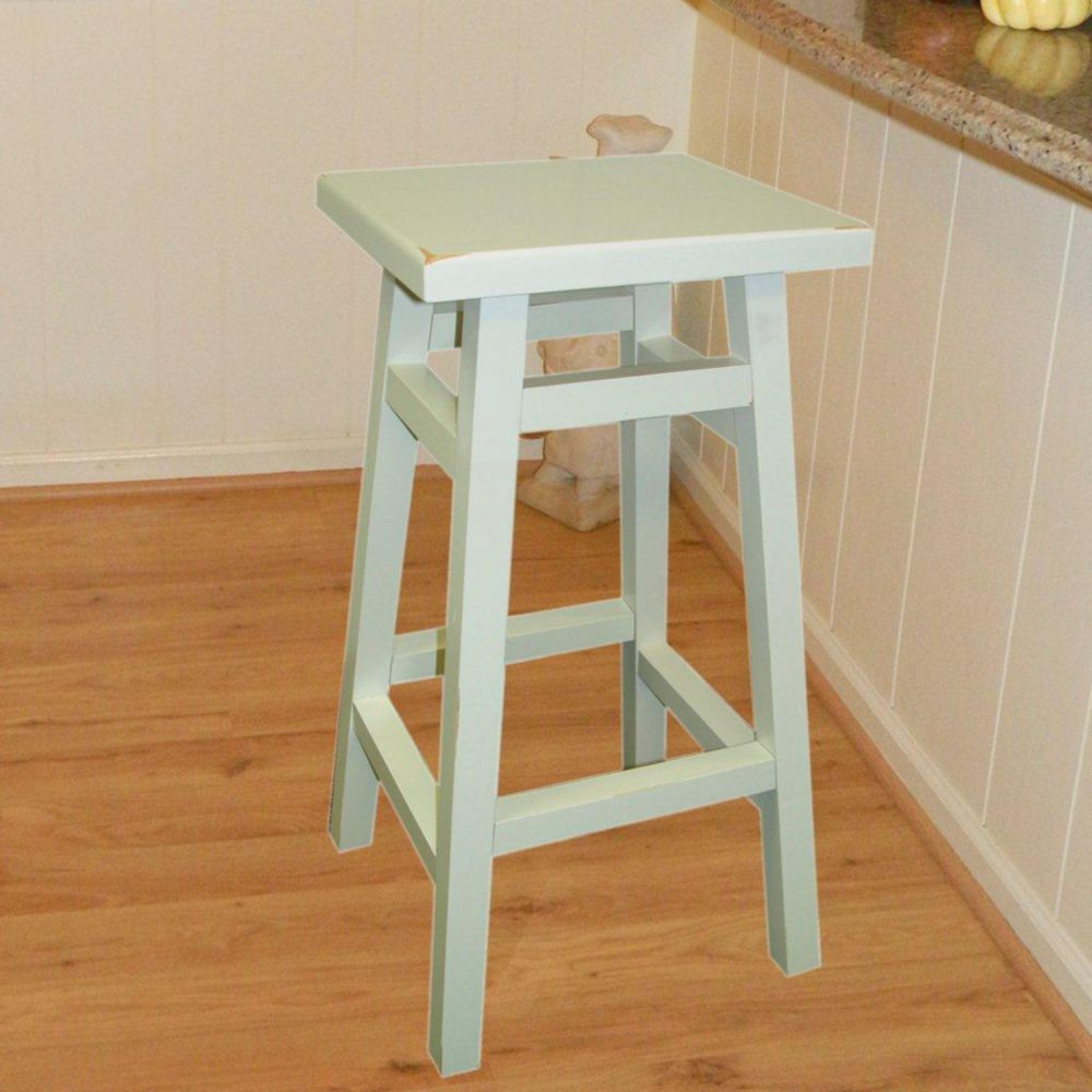Antique White 30 Inch O'Malley Pub Barstool 1CS30-White in Canada