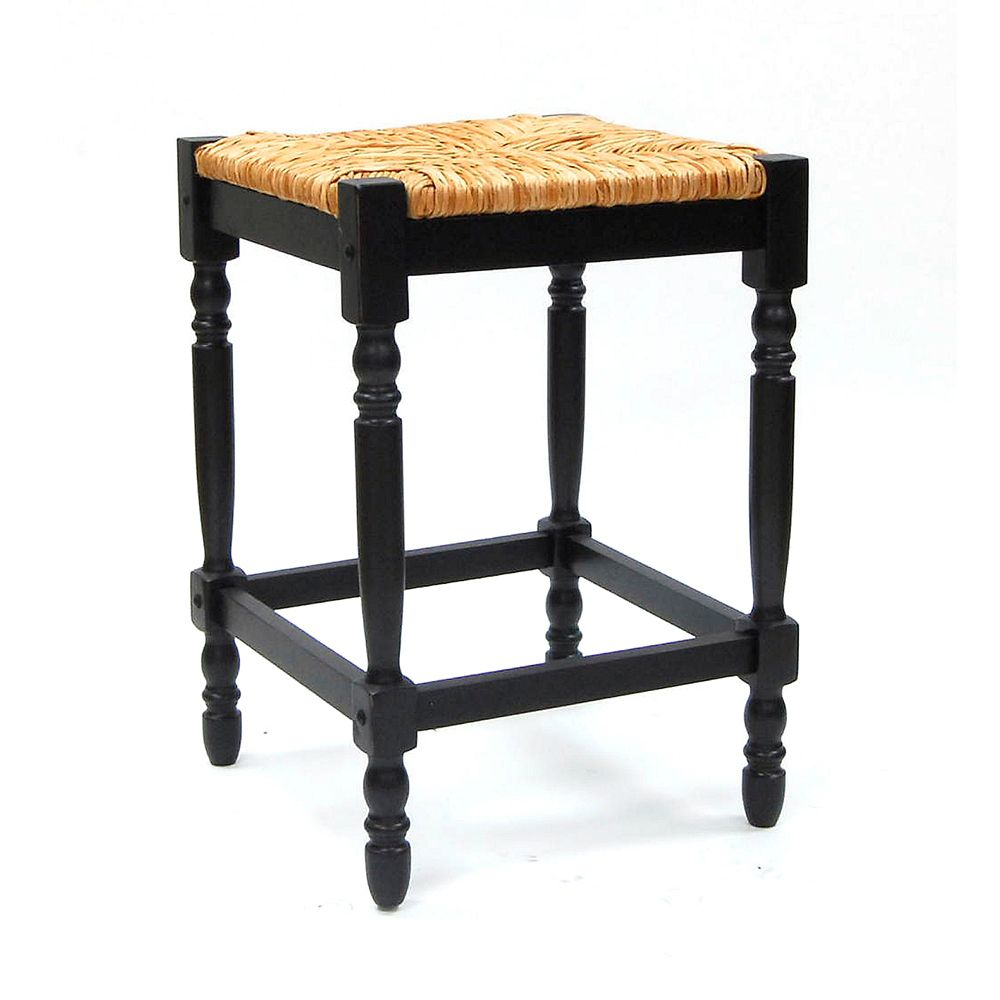 Antique Black 24 Inch Hawthorne Counter Stool