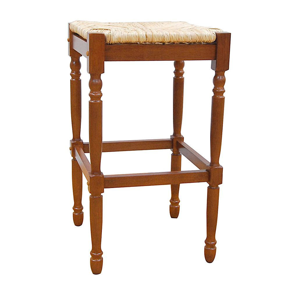 Carolina Cottage Walnut 30-inch Hawthorne Barstool
