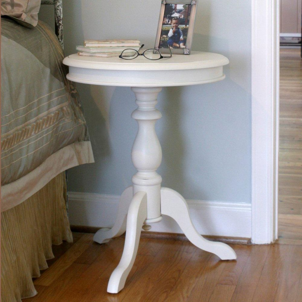 Antique Ivory Gilda Side Table