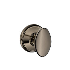 F10Sie620 Siena Antique Nickel Passage Knob