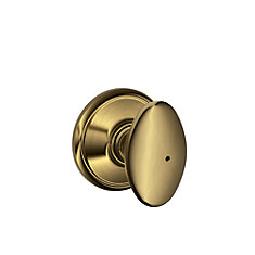 Sienna Antique Brass Privacy Knob