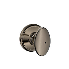 Sienna Antique Pewter Privacy Knob