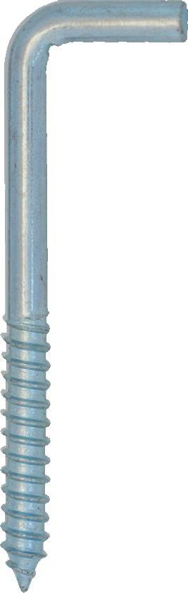 3-1/16 Inch  Zinc Cornice Hook 2pk