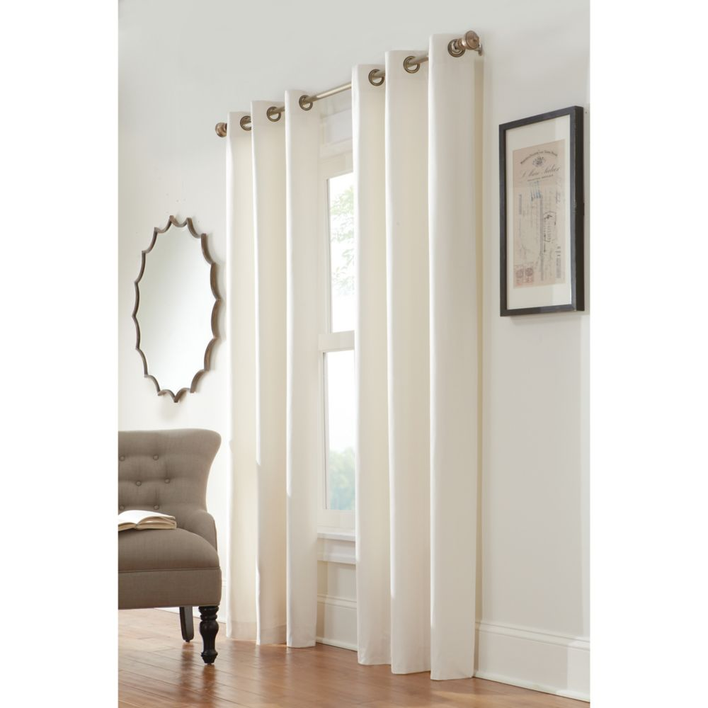 Insulated Curtain, Natural- 40 Inches x 84 Inches