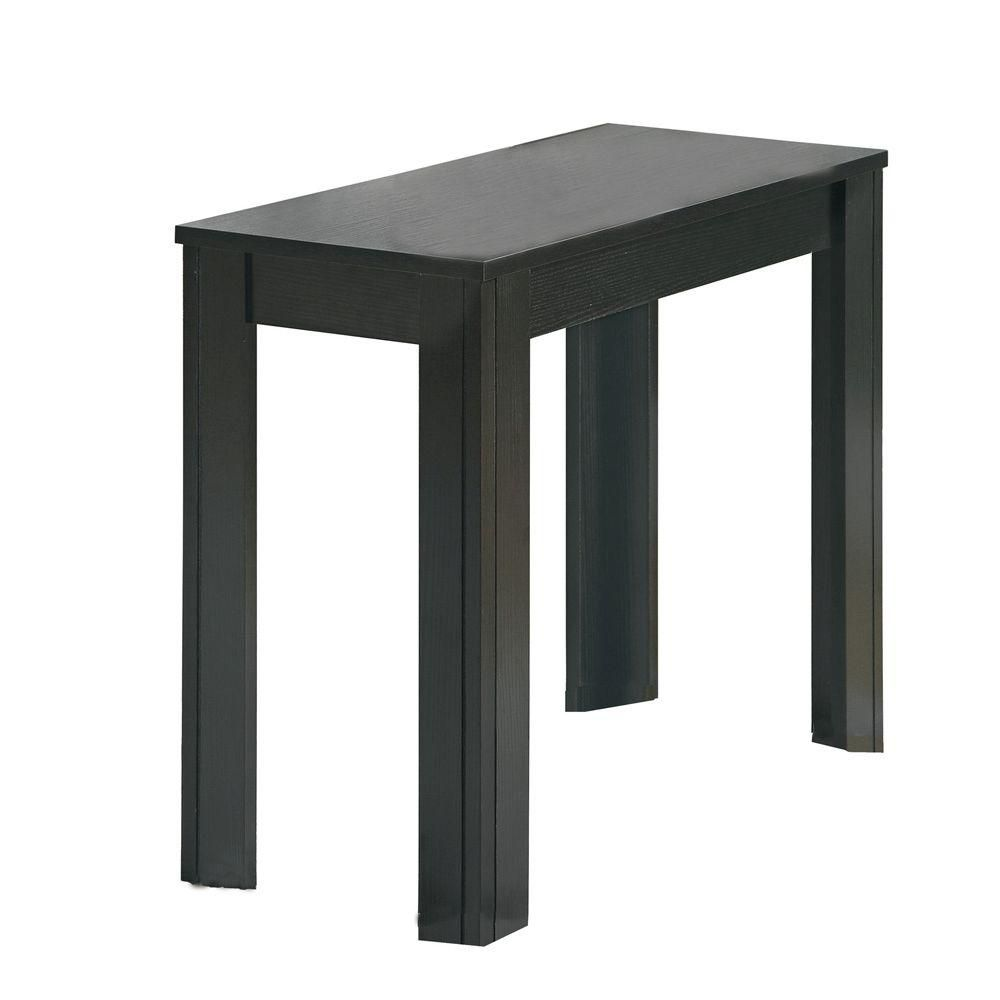 Monarch Specialties Table D 39 Appoint Chene Noir Home Depot Canada