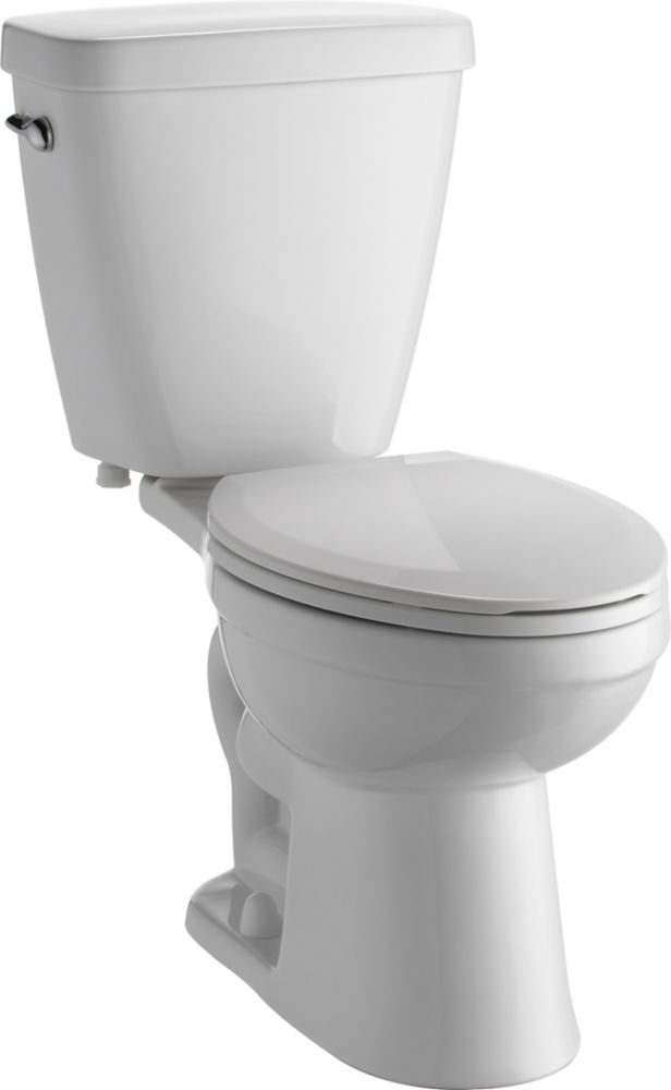 Prelude Two Piece 1.28 Gal. Elongated Toilet in White