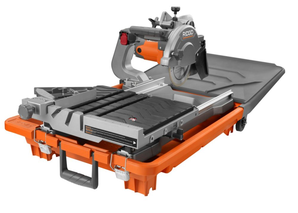 8-inch Job Site Wet Tile Saw