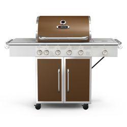 BBQTEK 6-Burner Propane BBQ