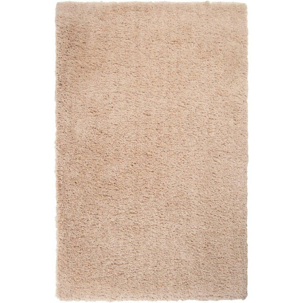 Wallers Parchment Polyester Area Rug - 3 Feet x 5 Feet