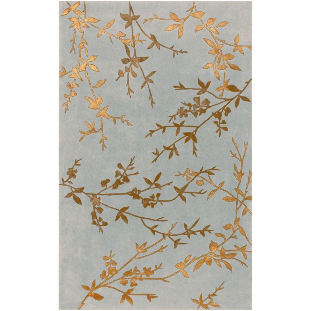 Westminster Spa Wool / Viscose  - 3 Ft. 6 In. x 5 Ft. 6 In. Area Rug
