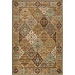 Artistic Weavers Carpette, 7 pi 9 po x 11 pi 2 po, rectangulaire, brun Yvetot