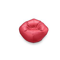 Ace Casual Furniture 96-inch Bean Bag Chair in Classic Matte Red