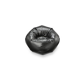 Ace Casual Furniture 96-inch Bean Bag Chair in Black Soot