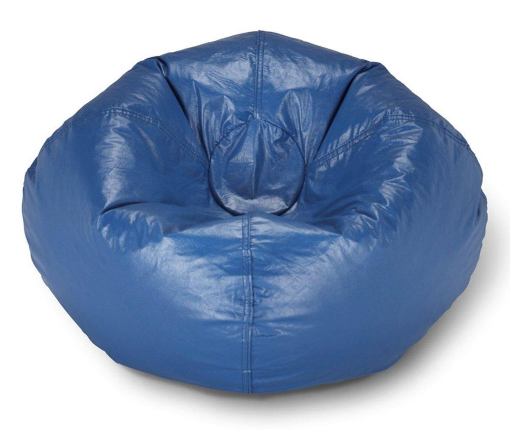 Magnificent 98 Inch Bean Bag Chair In Blue Spiritservingveterans Wood Chair Design Ideas Spiritservingveteransorg