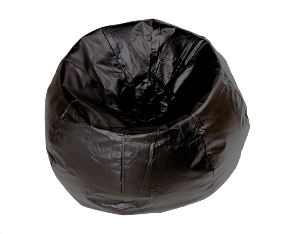 Black Jumbo Bean Bag - 132 Inch