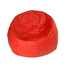 Red Jumbo Bean Bag - 132 Inch