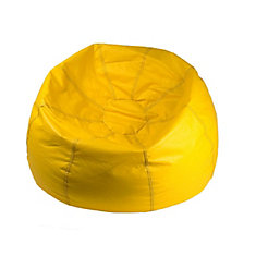 Jumbo 132-inch Bean Bag Chair in Yellow