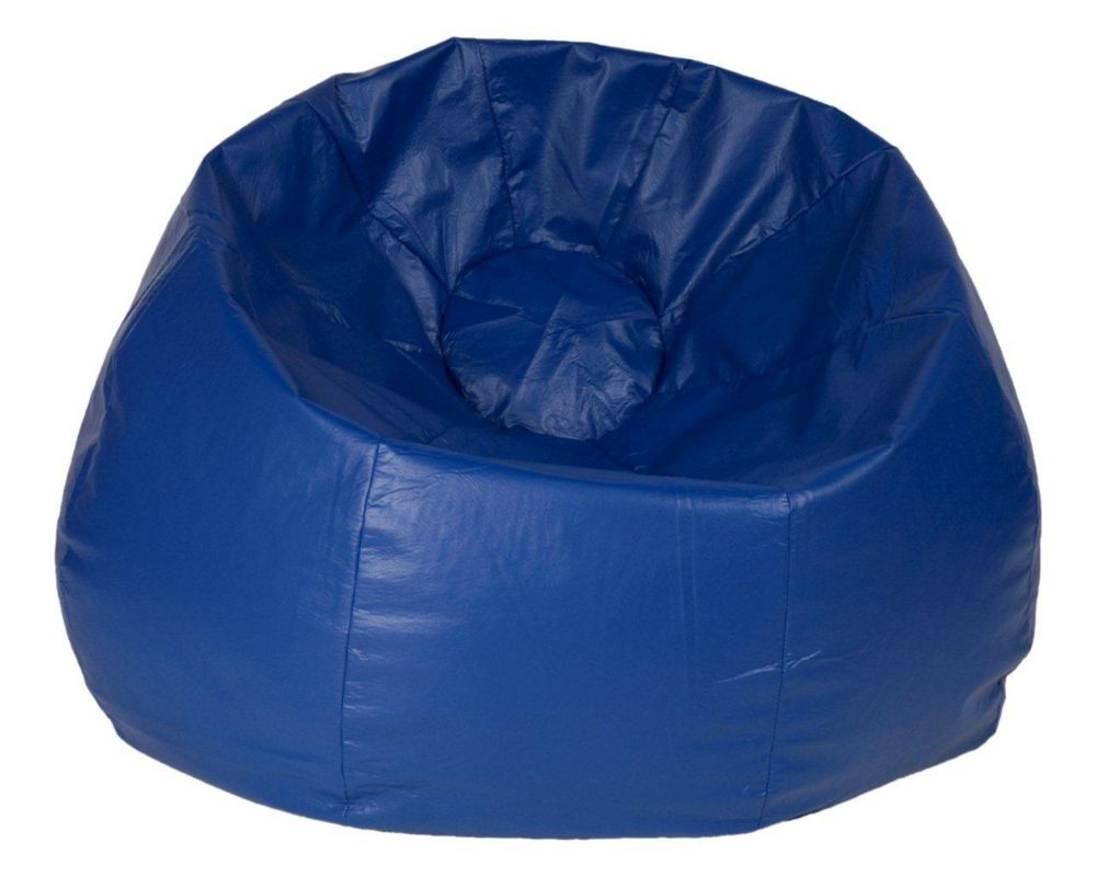 Blue Jumbo Bean Bag - 132 Inch