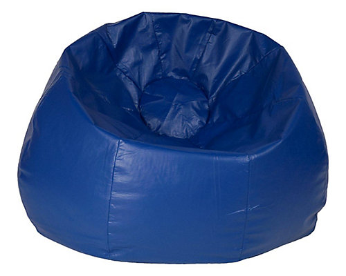 Jumbo 132 Inch Bean Bag Chair In Blue