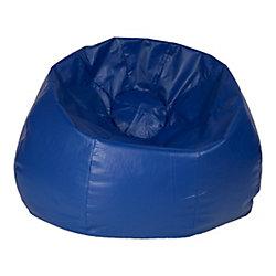 Ace Casual Furniture Jumbo 132-inch Bean Bag Chair in Blue