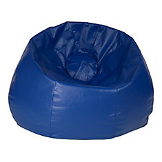 Jumbo 132 Inch Bean Bag Chair In Blue