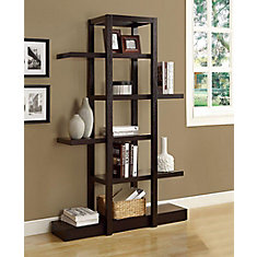 4725 Inch X 71 1425 Manufactured Wood Cubed Bookcase In