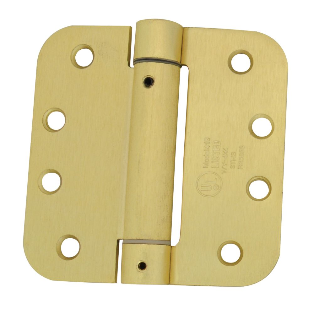 4 Inch Brass 5/8rd Closing Hinge 859-400 Canada Discount