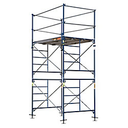 Metaltech Saferstack 10 ft. x 5 ft. x 7 ft. 2-Story Fixed Scaffold Tower