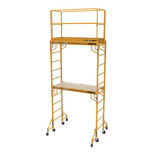 Metaltech Complete 12 feet high Baker Style Scaffold tower, 1,000lbs capacity