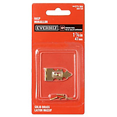 1-7/8 Inch  Solid Brass Hasp