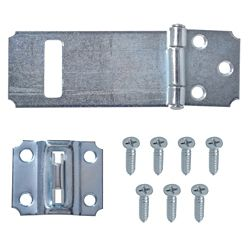Everbilt 3-1/2-Inch Zinc Plated Hasp with Adjustable Stop - 1pk