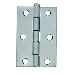 Everbilt 2-1/2 Inch Zinc Narrow Hinge Loose Pin (2-Pack)