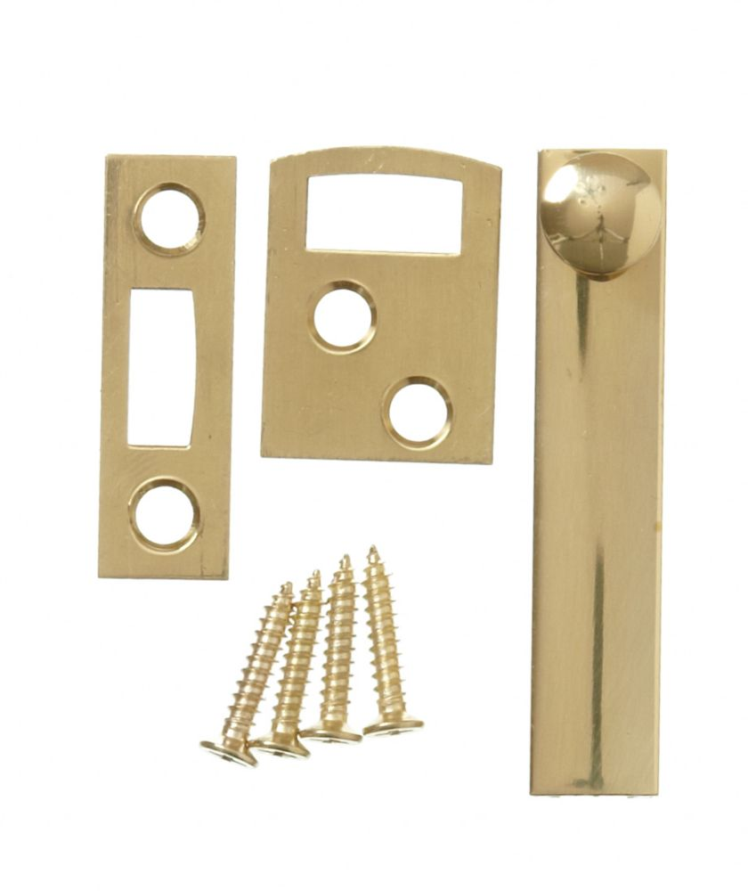 2-1/2 Inch  Solid Brass Surface Bolt