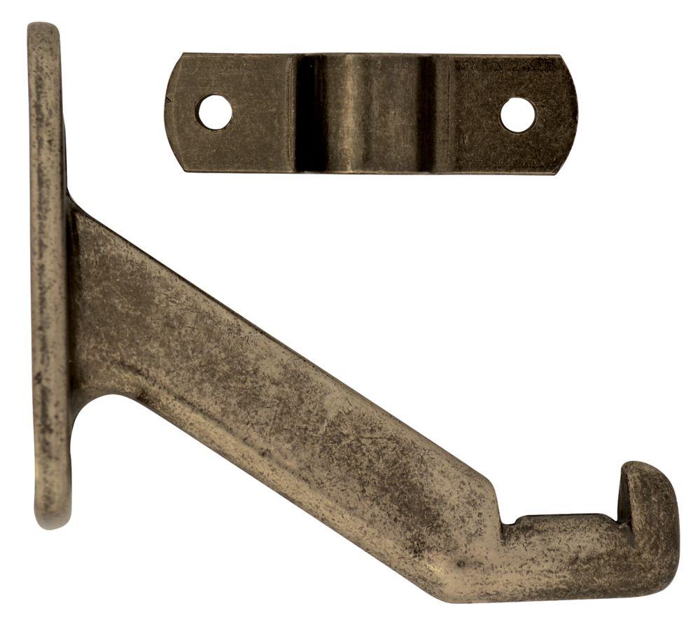 Antique Pewter Handrail Bracket