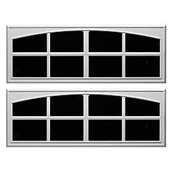 Everbilt 17-1/2 Inch X45 Inch White Decorative Faux Window (2-Pack)