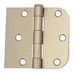 Everbilt 3-inch x 3 3/16-inch Bright Nickel Door Hinge (2-Pack)