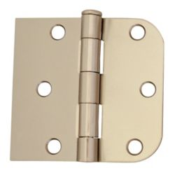 Everbilt 3-inch x 3 3/16-inch Bright Nickel Door Hinge (2-Pack)