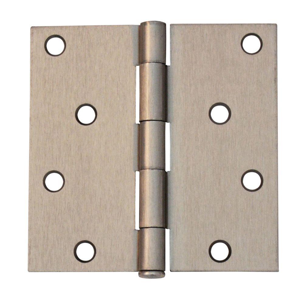 4-inch Satin Nickel Door Hinge