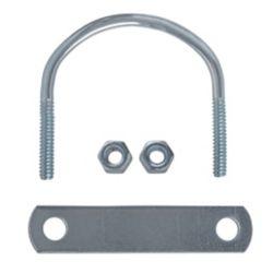 Everbilt 1/4-inch X3-1/4-inch X2-1/2-inch Zinc U-bolt