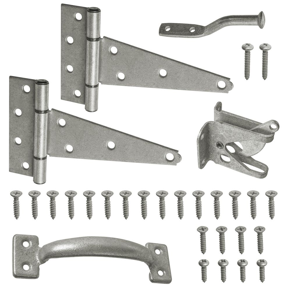 Galvanized Gate Set (4 Pack)