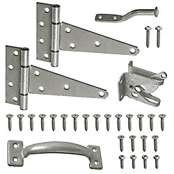 Everbilt Galvanized Gate Set (4-Pack)