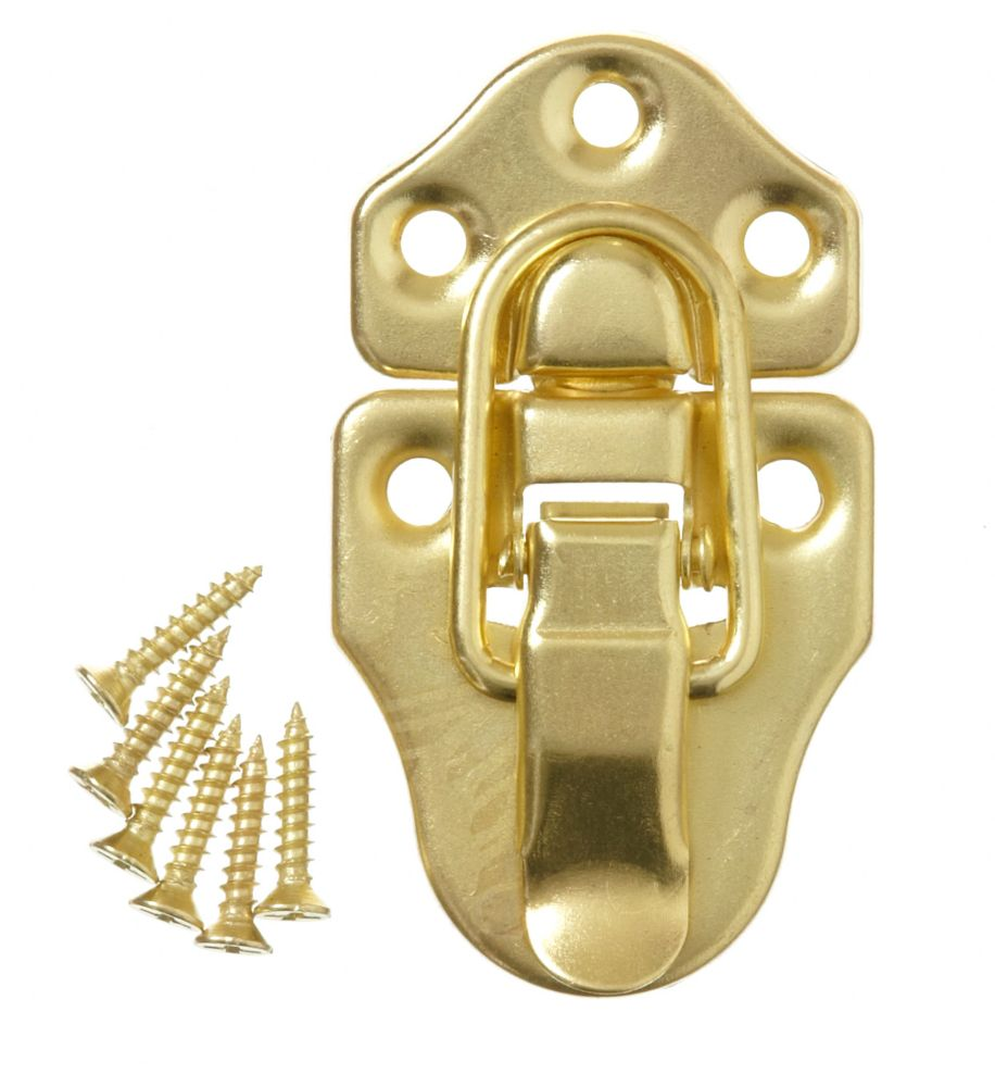 2-11/16 Inch  Brass Chest Latch