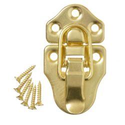 Everbilt 2-11/16 Inch  Brass Chest Latch