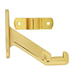 Everbilt Polished Brass Handrail Bracket