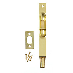 6 Inch  Brass Flush Bolt