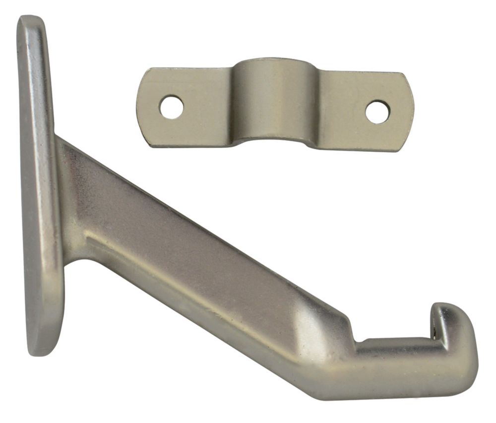 Everbilt Satin Nickel Handrail Bracket
