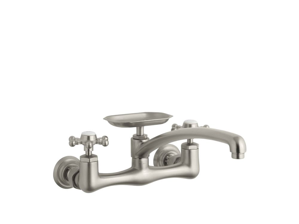Kohler Trielle Pull Down Kitchen Faucet In Vibrant