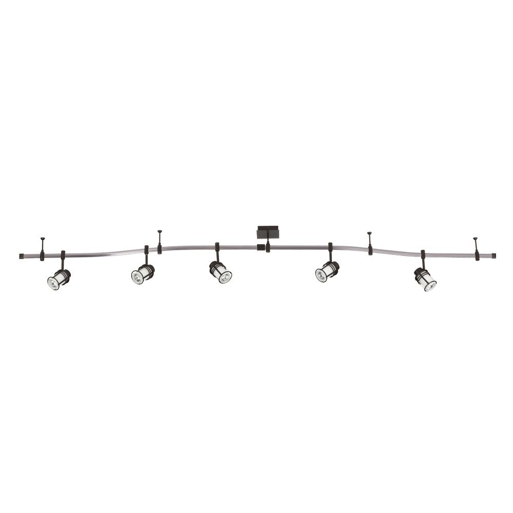 Longitode Collection 5 Light Oil Rubbed Bronze Track 25517-019 Canada Discount