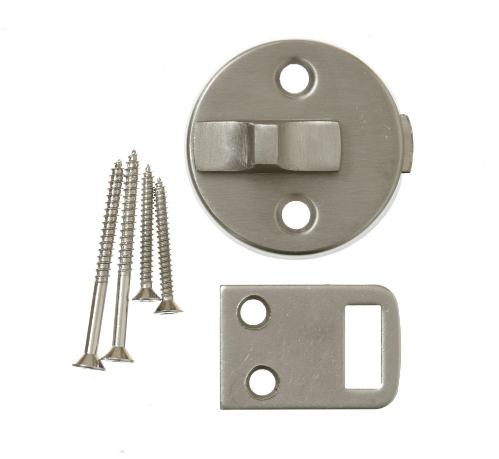 4 Inch  Satin Nickel Dec Surface Bolt